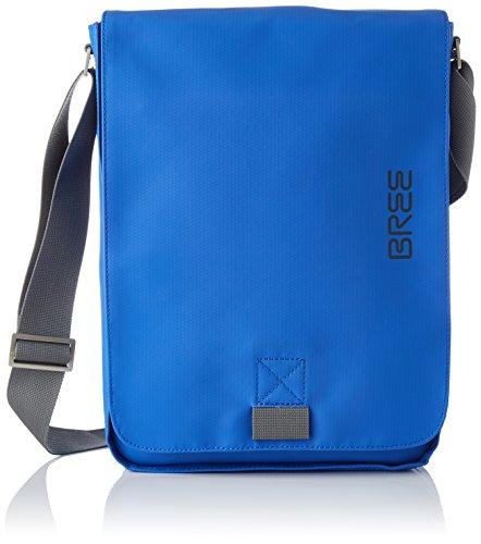 BREE Damen PNCH 719 shoulder bag M Umhängetasche, Blau (Victoria Blue), 15x11.5x40 cm