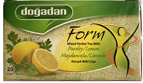 Dogadan Form Tee 20 Beutel Petersilie-Zitrone - 2er Pack