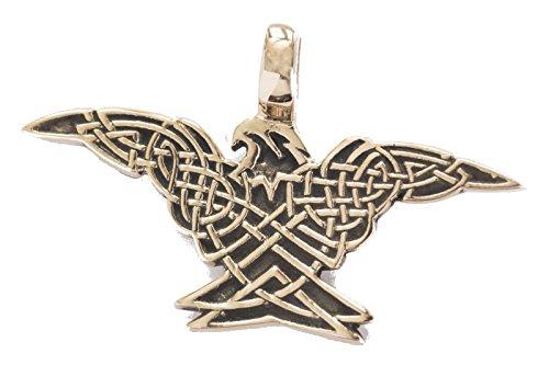 Arcon - keltischer Adler (Kettenanhänger in Bronze) | keltischer Schmuck