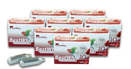 600 Best Whip Cartouches pour siphon à espumas et chantilly, la boite de 600 pièces