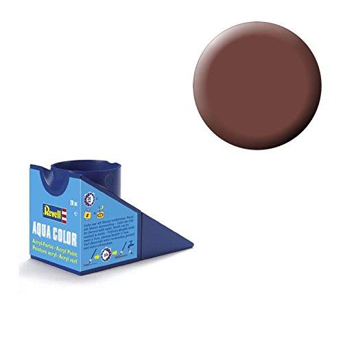 Revell 36183 Aqua Color - Pintura acrílica Mate (18 ml), Color marrón Rojizo