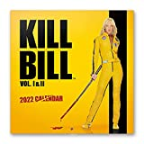 Calendario Kill Bill 2022 - Calendario 2022 pared - Calendario 16 meses - Calendario 2021 2022│ Calendario de pared 2021 2022 - Calendario mensual - Producto con licencia oficial