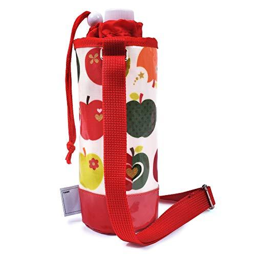 ペットボトルホルダー ショルダー ペットボトルカバー おしゃれリンゴのひみつ(アイボリー) N3742400