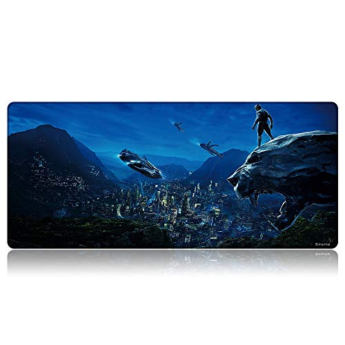 Bimormat Anime Gaming Mouse Pad,XXL Large Extended Desk Pad (35.4x15.7 inches),High-Performance Mousepad Optimized for Gamer (90x40 D23baoman)