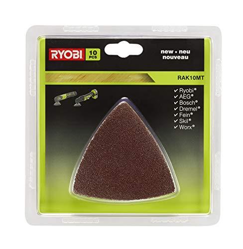 Ryobi RAK10MT 10 Piece Multi Tool sanding paper set