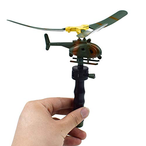 Floridivy Aviation Model Copter Handle Pull Helicopter Vliegtuig Outdoor Toys Kids Spelen Drone Holiday Gifts