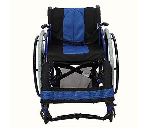 TWL LTD-Wheelchairs Silla de Ruedas Portátil para Discapacitados de Extremidades Inferiores, Silla de Ruedas Deportiva para Competición Juvenil