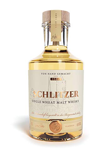 Schlitzer Single Wheat Malt Whisky (1 x 0.5l)