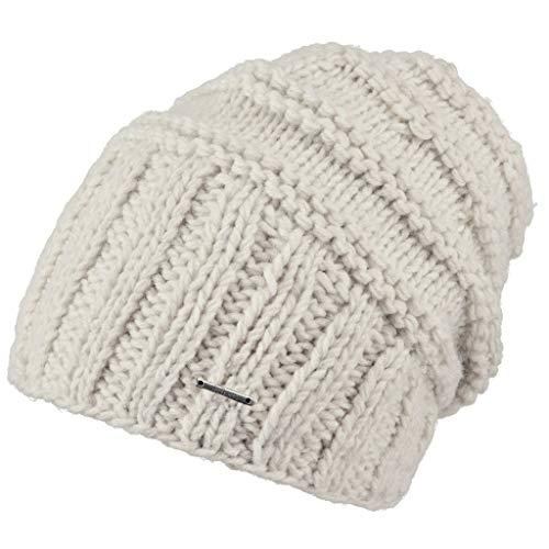 Barts Damen Tamara Beanie Baskenmütze, Weiß (Oyster 0033), One Size (Herstellergröße: Uni)