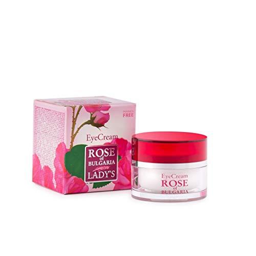 Biofresh Anti-Falten Augencreme mit natürlichem Rosenwasser, geeignet für empfindliche Haut, ohne Parabene, 25 ml