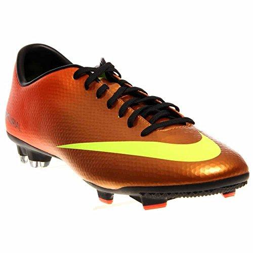 Nike Mercurial Victory V FG, Fußballschuhe für Herren, Orange - Orange - Größe: 42.5 EU