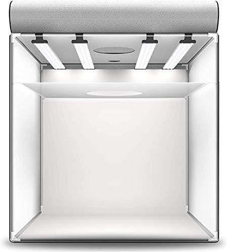 HAVOX - Fotostudio HPB-80XD - Maße 80x80x80cm - 4X Dimmbare LED-Beleuchtung Tageslicht 5500k - 26,000 Lumen - CRI 93 - Machen Sie Ihre kommerziellen Fotos...