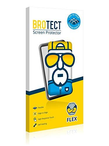 "BROTECT Protector Pantalla Completa Compatible con Willful Fitness Tracker 1.3"" (2 Unidades) 3D Curvo 3"