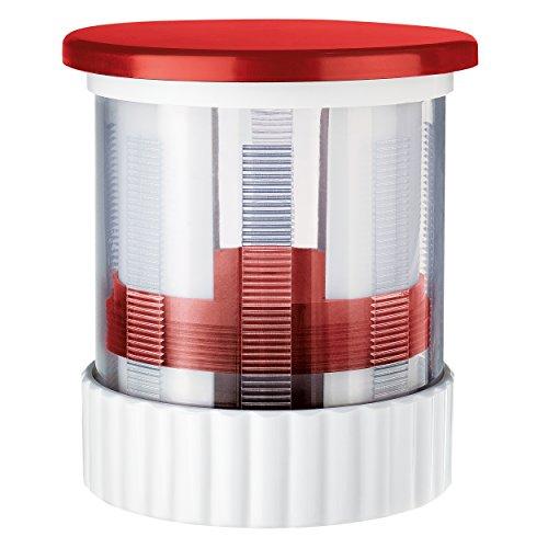 Moha Presto dispensador para Mantequilla, Rojo, Centimeters
