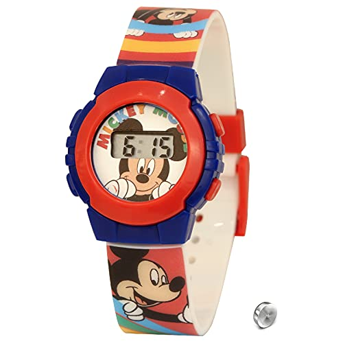 SKYLINE Reloj Digital para Niños, Reloj de Pulsera Infantil, Reloj con Estampado de Personajes Infantiles de Moda, Fácil Lectura, Pila Extra, Diseños Divertido, Niños
