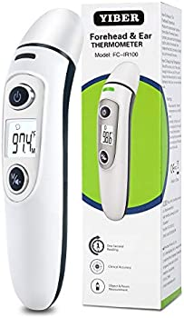 YIBER LCD Digital Infrared Thermometers with 35 Sets of Memory Readings