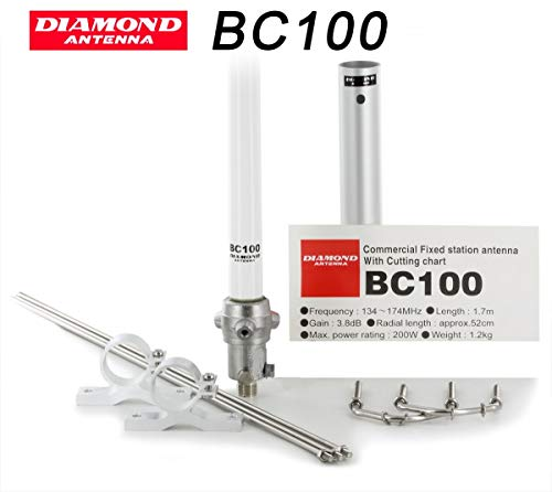 Diamond BC-100-Antena vertical VHF 136/174 MHz