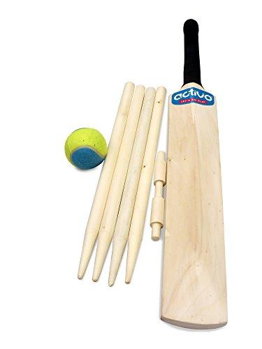 Mookie - 8692 - Jeu De Balle Et De Ballon - Ensemble Complet De Cricket De Taille 3
