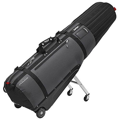 Sun Mountain ClubGlider Meridian Travel Bag Golf Club Cover - Black / Gunmetal