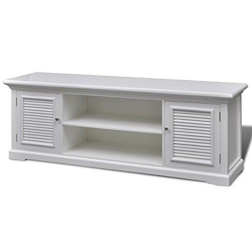 vidaXL TV-Tisch TV-Board Lowboard Fernsehtisch Fernsehschrank Holz Kommode Bank