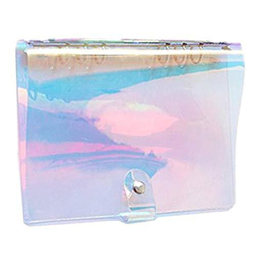 DULALA A6 6-Ring-Soft-PVC-Notebook Rainbow Binder Covers für Mädchen Schulbedarf Notebooks Schreibblöcke & Tagebücher