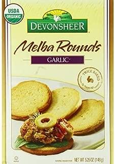 Devonsheer Melba Rounds, Garlic, 5.25 Ounce (Pack of 12)