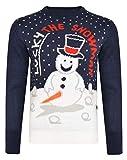 Lucky Snowman Weihnachtspullover