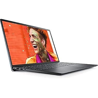 2021 Latest_Dell_Inspiron 15 5000 Series 5515 15.6″ FHD Touchscreen Laptop AMD Ryzen 5 5500U (Beats i7-1065G7) 8GB RAM 256GB SSD Backlit Keyboard FP Reader Webcam Windows 10 Mist Blue W/ LPT Cloth