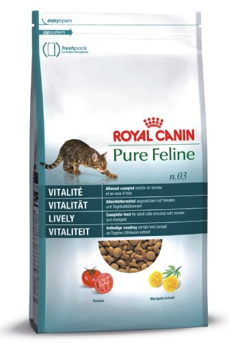Royal Canin 55242 Pure Feline Vitalität 3 kg - Katzenfutter