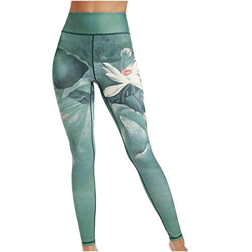 Keepwin Leggins Push Up Mujer Pantalones Yoga