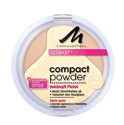 Manhattan CF Compact Powder 76 1er Pack (1 x 9 g)
