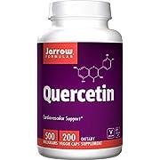 Jarrow Formulas Quercetin, for Cardiovascular Support, 500mg, 200 Capsules