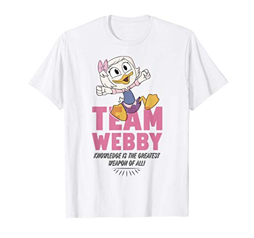 Disney DuckTales Team Webby Knowledge Is The Greatest Weapon T-Shirt