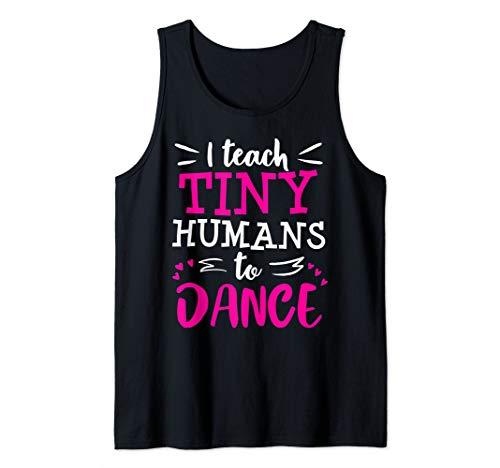 Dance Teacher Ballet Hip Hop Thank You Recital Gift Tank Top