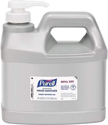 Purell Unscented Gel Hand Sanitizer