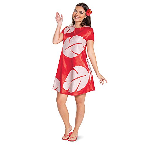 Disguise Deluxe Adult Lilo Fancy Dress Costume Large