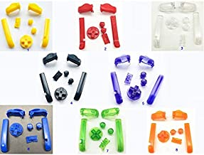 A B L R Buttons Keypads D Pads Power ON Off Buttons for Gameboy Advance for GBA Buttons (Color 2)