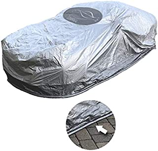 CoverSeal 210 Rodent, Rat, Mice Preventing Weatherproof Car Cover Sports Size (L=189in, W=70in, H-67in, Rear= 43in)