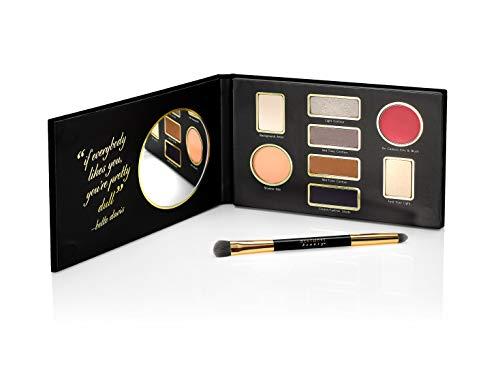 Westmore Beauty Bette Davis Eyes – Timeless Beauty Eyeshadow Palette & Applicator Brush