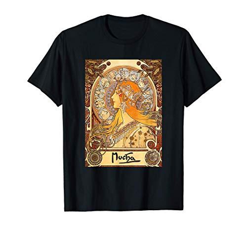 Alphonse Mucha | Tierkreis | Jugendstil T-Shirt