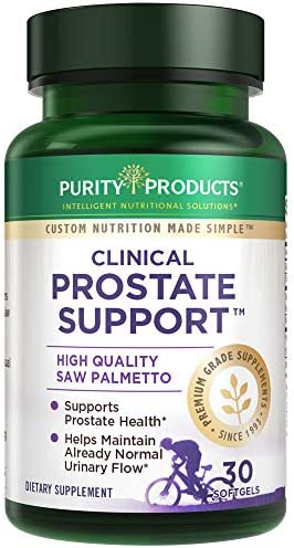 Clinical Prostate Support by Purity Products Organically USA Grown Saw Palmetto Extract Pumpkin product image