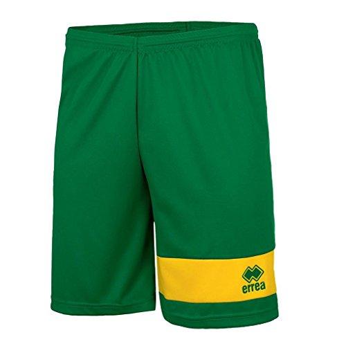 Errea - Short MARCUS Vert / Jaune Taille - L