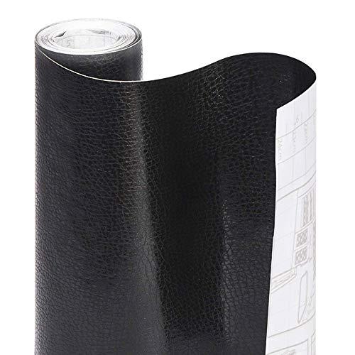 Smart Design Shelf Liner Chalkboard Adhesive - (18 Inch x 6 Feet) - Drawer Cabinet Paper - Kitchen [Black]