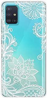 ZunYing Diamond Sparkle Bling Sottile Pelle Custodia per Samsung A51 2020