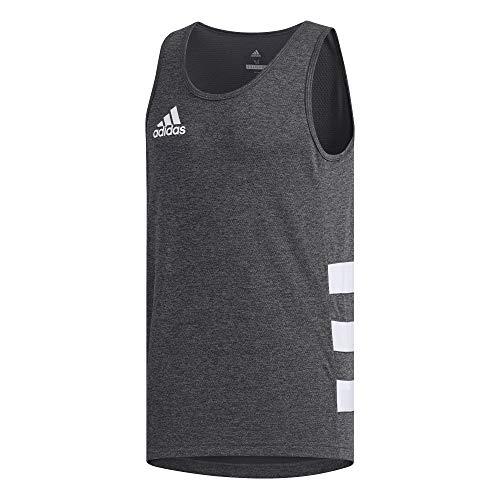 adidas Herren Rugby Singlet Unterhemd, Grau (grisei), XL