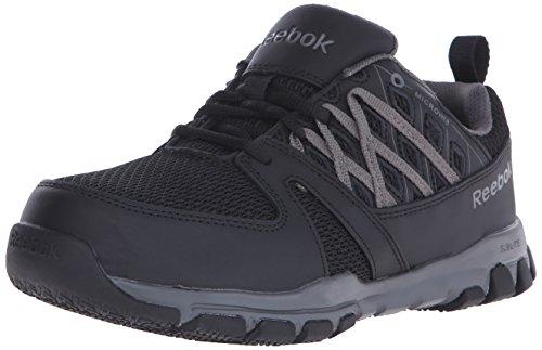 Reebok Work Women's Sublite RB416 Work Shoe, Black, 7 W US
