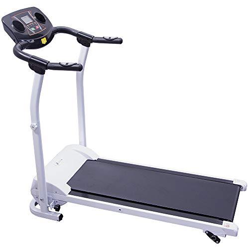 CENTURFIT Caminadora Electrica 1.5 HP Plegable Excelente Calidad Cardio Pantalla LCD Facil Uso Gym Cas