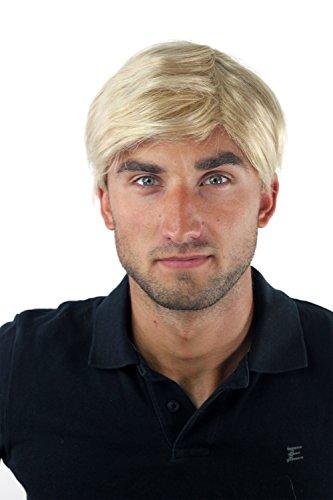 WIG ME UP - GFW-994-24BT613 Herrenperücke Perücke Männer Toupet Kurz Jugendlich Modisch Blond-Mix