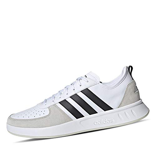 adidas Herren Court80s Tennisschuh, FTWR White/core Black/raw White, 44 EU