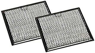 2 Pack AF Compatible Replacement for GE WB02X11534 Grease Mesh Microwave Oven Filters